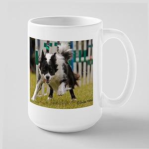 Border Collie Image 12 Large Mug