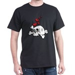 Skull and Hearts Dark T-Shirt