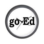 go Ed Wall Clock