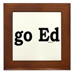 go Ed Framed Tile