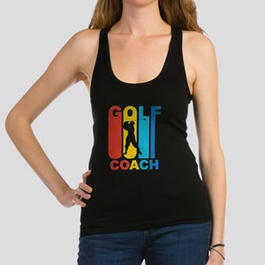 Vintage Golf Coach Graphic T Shirt Tank Top
