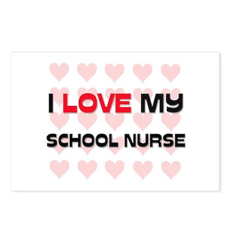 I Love My School Nurse Postcards (Package of 8)