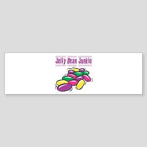 Jelly Bean Junkie Bumper Sticker