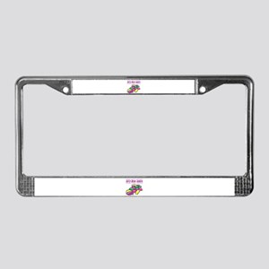 Jelly Bean Junkie License Plate Frame