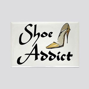 Shoe Addict Rectangle Magnet