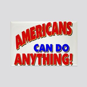 Americans CAN! Rectangle Magnet