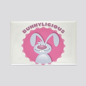 Bunnylicious Rectangle Magnet