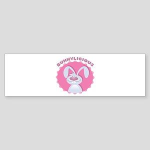 Bunnylicious Bumper Sticker