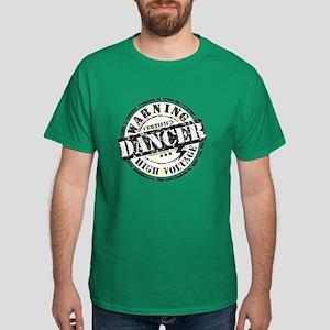 Warning Dancer High Voltage Dark T-Shirt