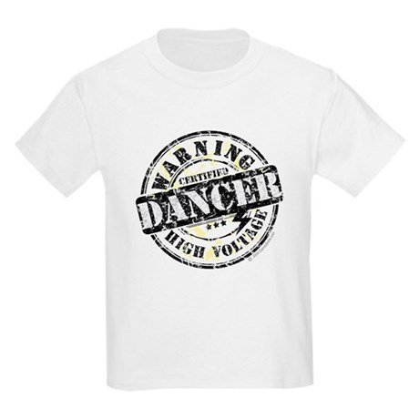Warning Dancer High Voltage Kids Light T-Shirt