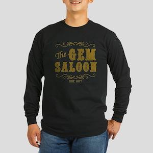 The Gem Saloon Long Sleeve Dark T-Shirt