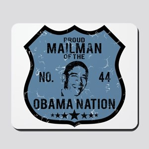 Mailman Obama Nation Mousepad