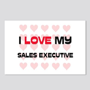 I Love My Sales Executive Postcards (Package of 8)