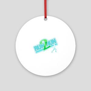 Run2Run Ornament (Round)