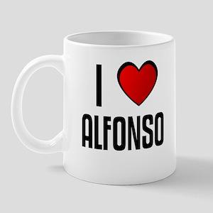 I LOVE ALFONSO Mug