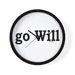 go Will Wall Clock