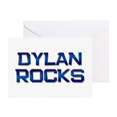 dylan rocks Greeting Card