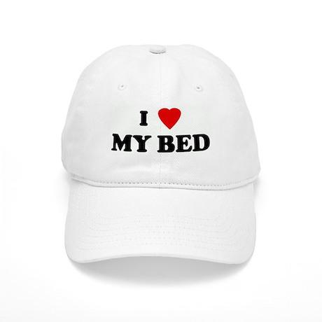 I Love MY BED Cap