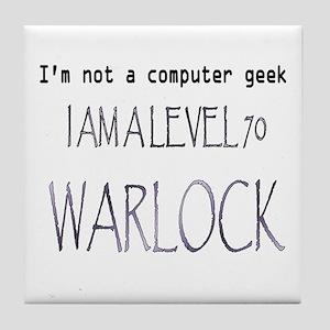 warlock Tile Coaster