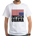 Impeach Obama White T-Shirt
