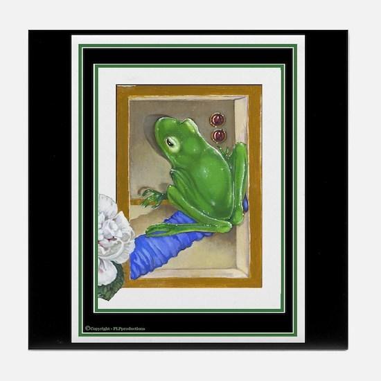 Raptured Frog Tile Coaster