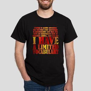 limited vocab Dark T-Shirt