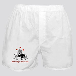 Blissful Child-Free Couple Boxer Shorts