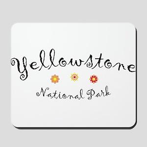 Yellowstone Super Cute Mousepad