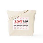 I Love My Radio Broadcast Assistant Tote Bag