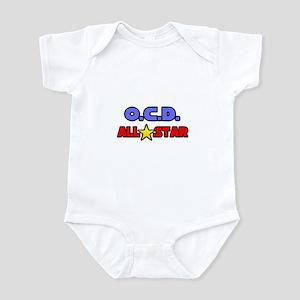 """""""OCD All Star"""" Infant Bodysuit"""