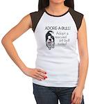 Adore-A-Bull Pit Bull! Women's Cap Sleeve T-Shirt