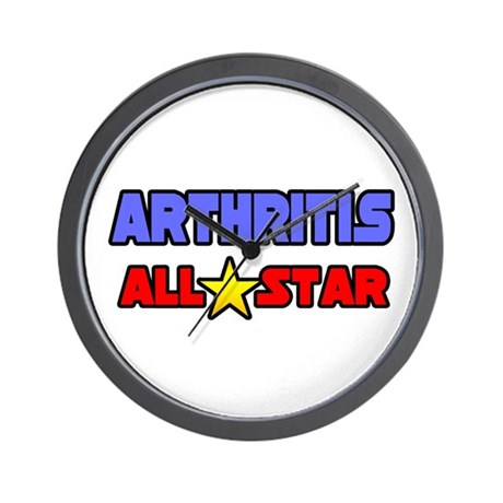"""Arthritis All Star"" Wall Clock"