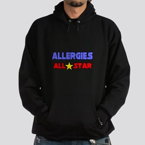 """Allergies All Star"" Hoodie (dark)"