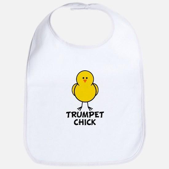 Trumpet Chick Bib