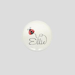Ladybug Ellie Mini Button