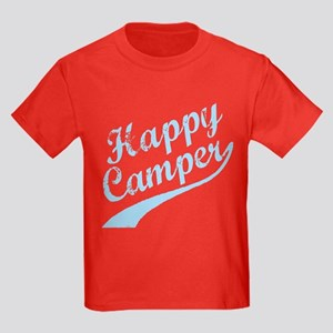 HAPPY CAMPER Kids Dark T-Shirt