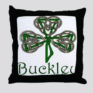 Buckley Shamrock Throw Pillow