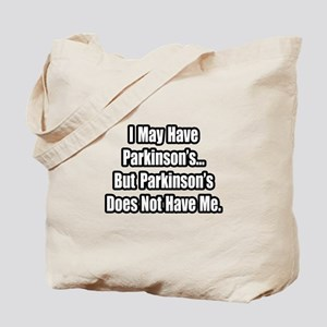 """Parkinson's Quote"" Tote Bag"