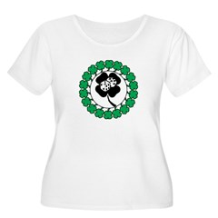 Lucky Green Clover T-Shirt
