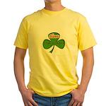 Hawt Irish Grandma Yellow T-Shirt