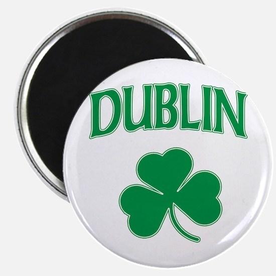 Dublin Irish Shamrock Magnet