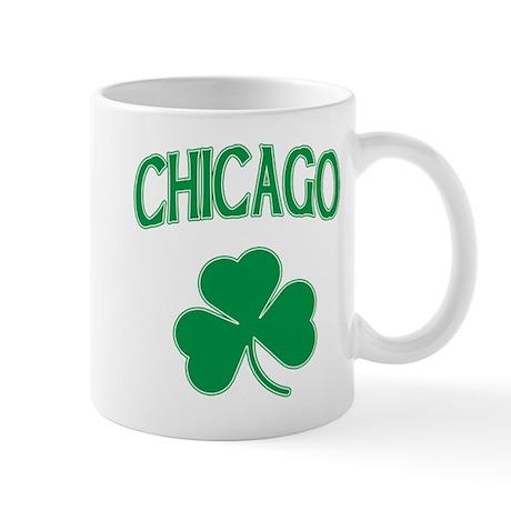Chicago Irish Shamrock Mug