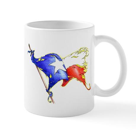 Texas Battle Flag Mug