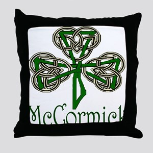 McCormick Shamrock Throw Pillow