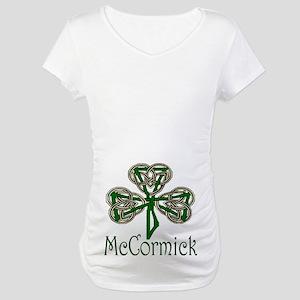 McCormick Shamrock Maternity T-Shirt