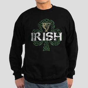 Irish Shamrock Erin Go Bragh Sweatshirt (dark)