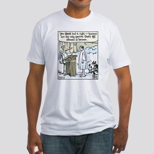Bizarro Heaven Fitted T-Shirt