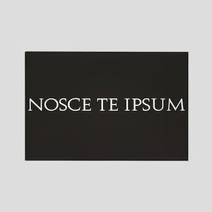 Nosce Te Ipsum Rectangle Magnet