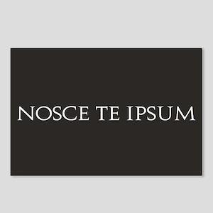 Nosce Te Ipsum Postcards (Package of 8)