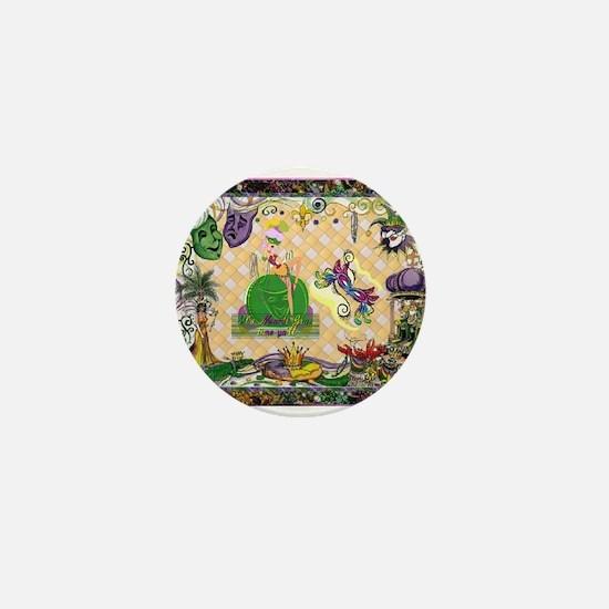 Acadian cajun Mini Button
